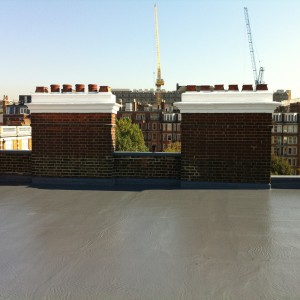 flat roofing pic